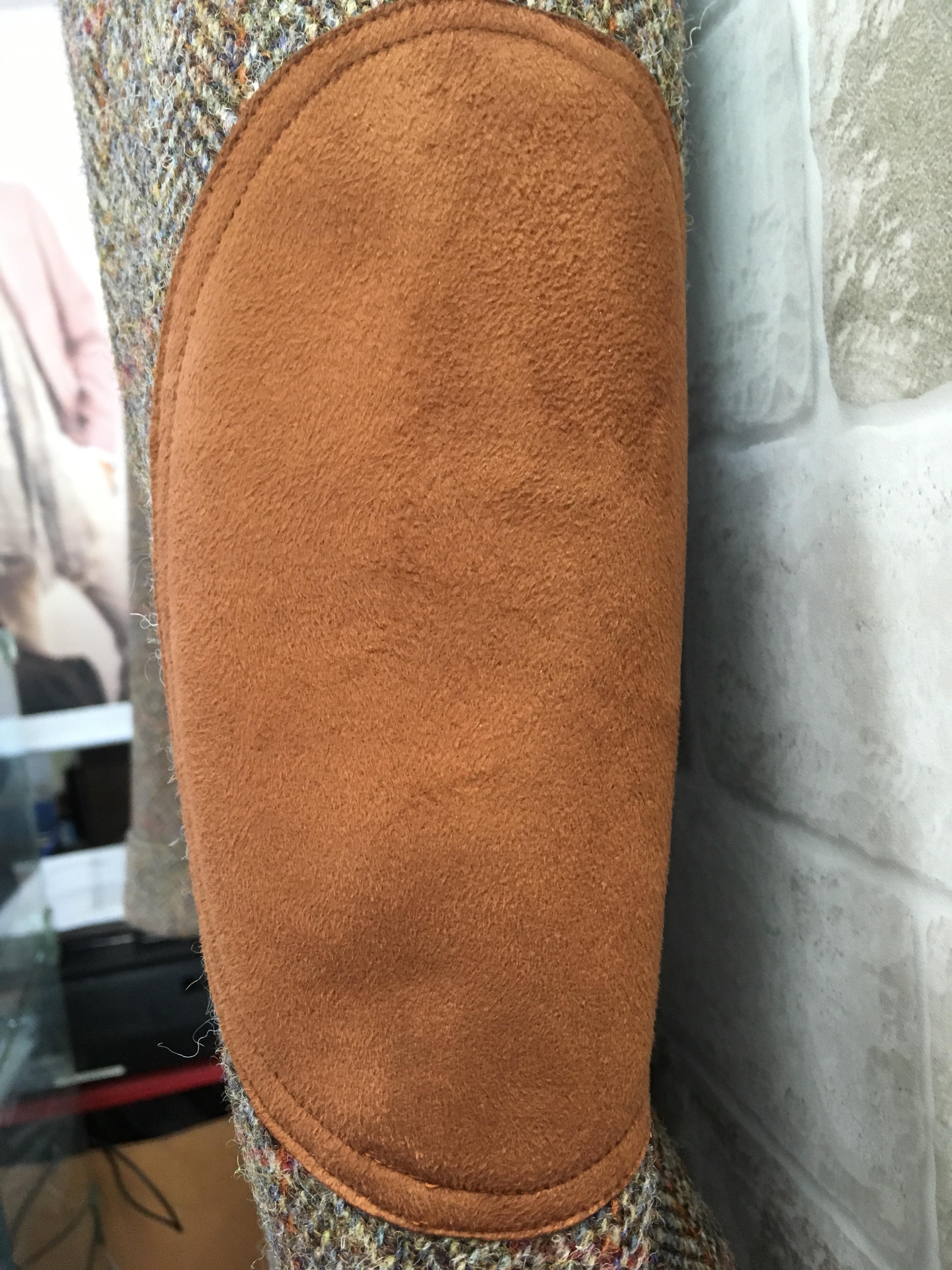 ハリスツイードのノーホークジャケット