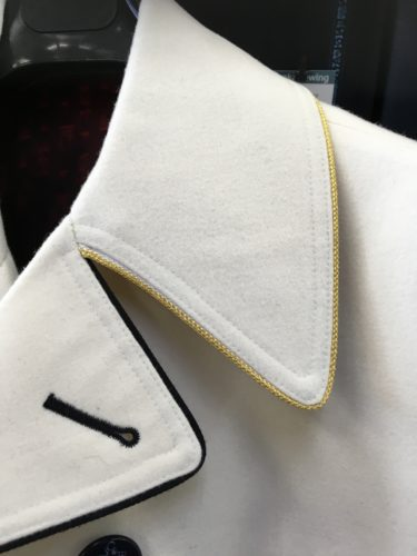 白いピーコート