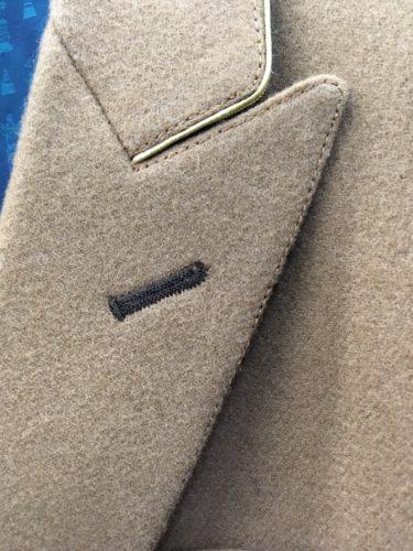 キャメルのジャケット