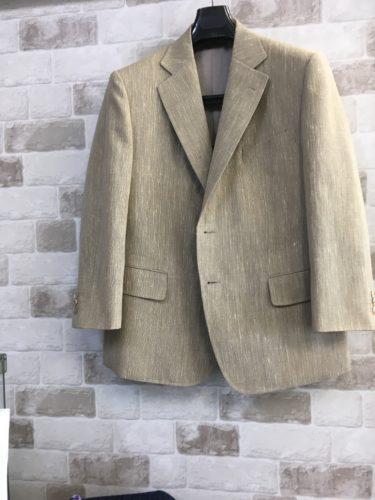 麻のジャケット