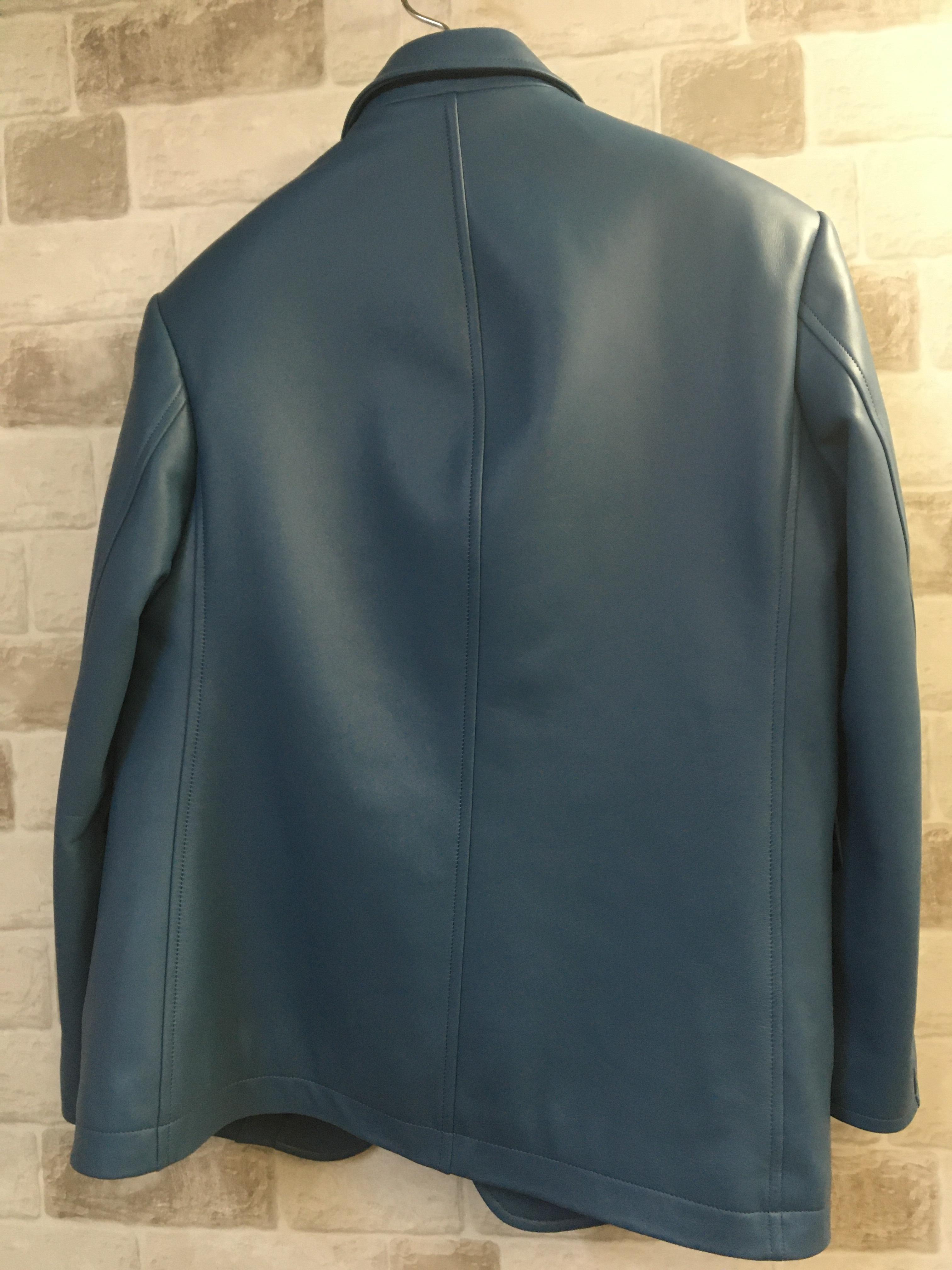 革のオーダージャケット