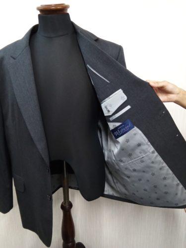 ラガーマンにオーダースーツをお仕立て!