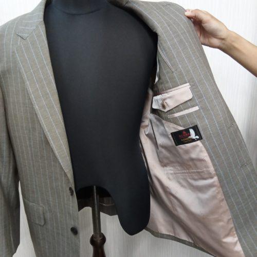 生地の美しさと着心地の良さ追求する「SCABAL−スキャバル」のスーツ