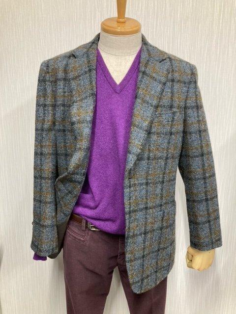 英国製ハリスツイードジャケット